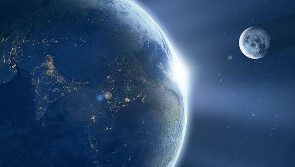 Ziemia i Księżyc - Sputnik Polska