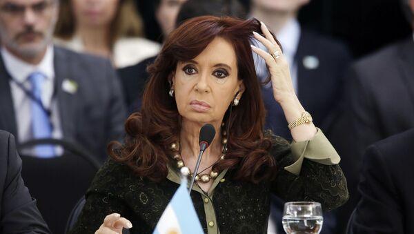 Prezydent Argentyny Cristina Fernandez de Kirchner - Sputnik Polska