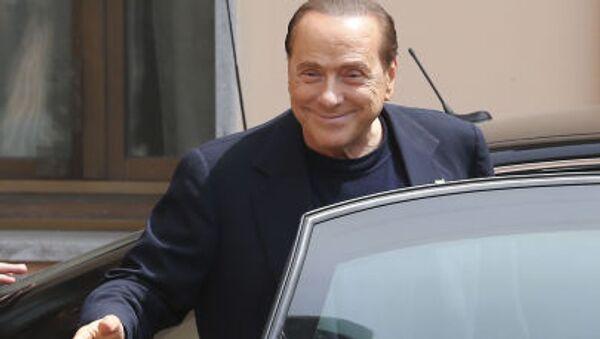 Były premier Włoch Silvio Berlusconi - Sputnik Polska
