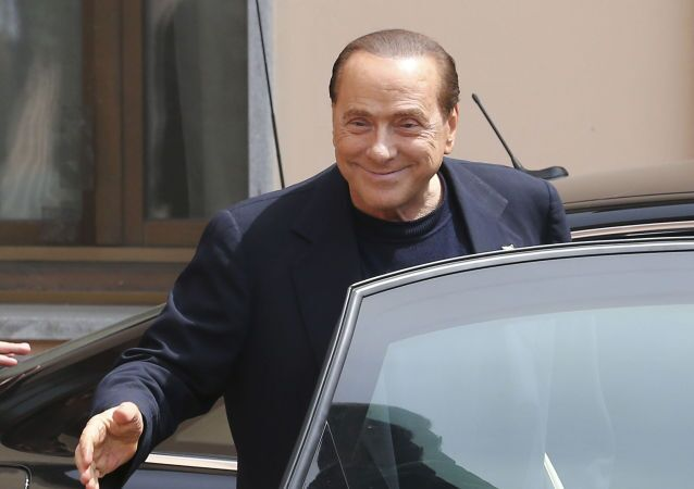 Były premier Włoch Silvio Berlusconi