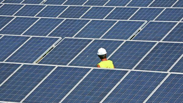 Solar power station - Sputnik Polska