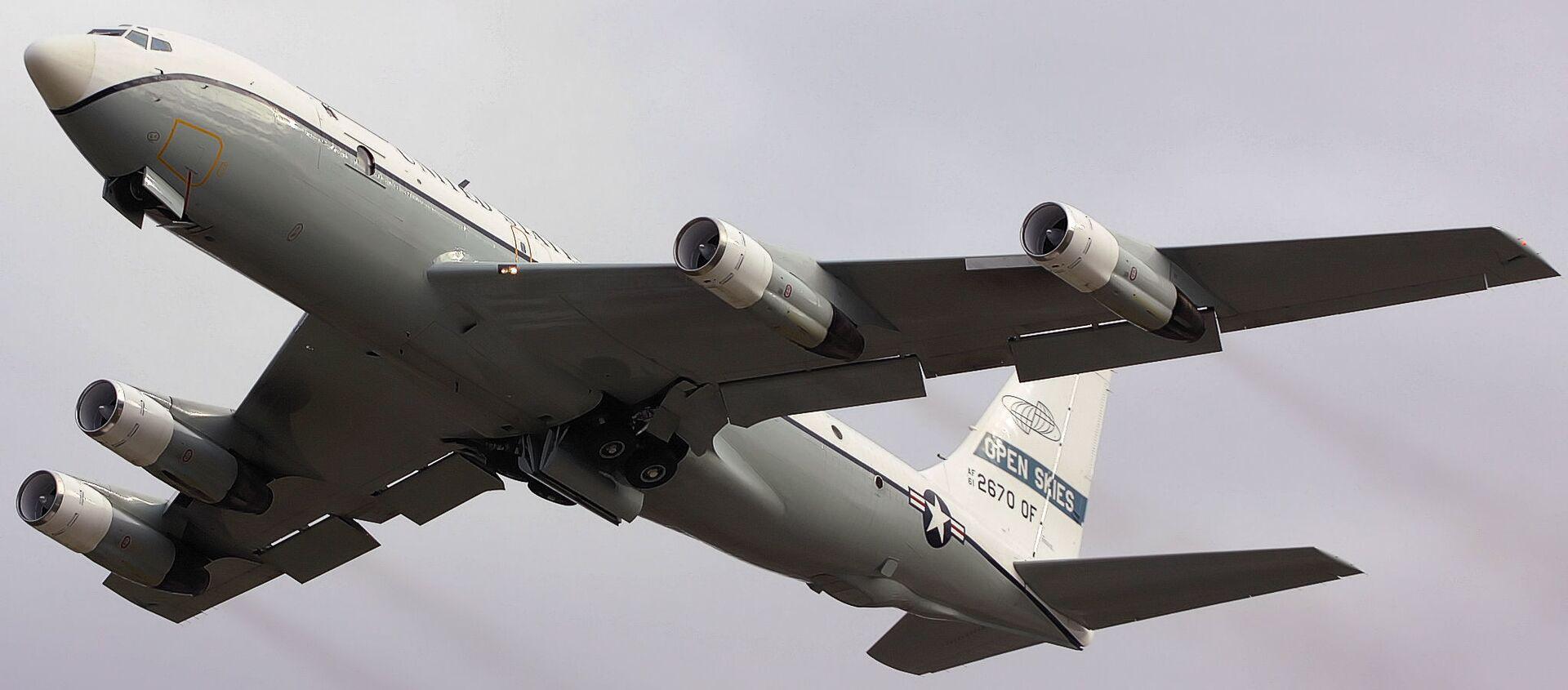 Американский самолет наблюдения OC-135B Open Skies - Sputnik Polska, 1920, 19.03.2021