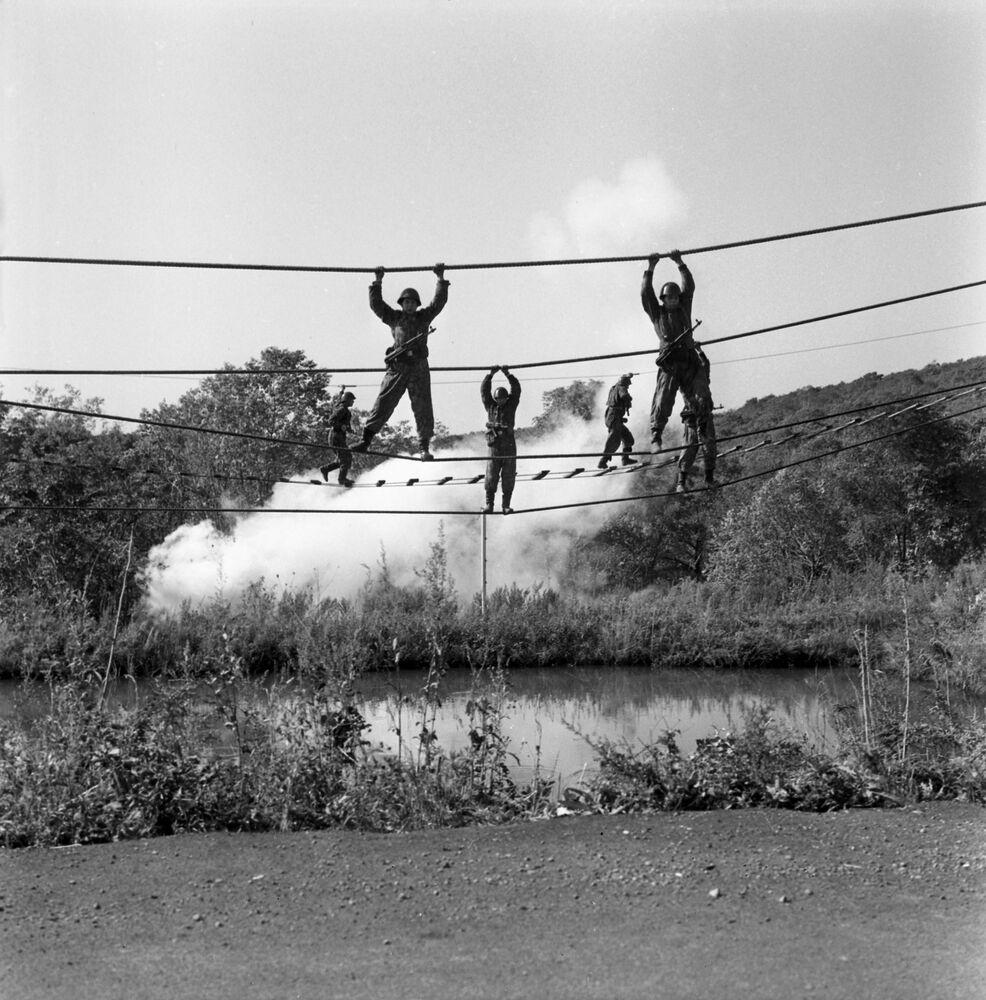 Ćwiczenia piechoty morskiej, 1976 r.