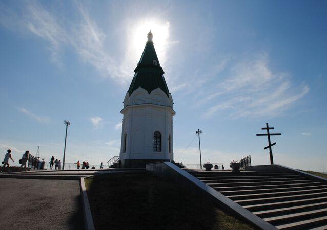 Kaplica Paraskiewy Piatnicy w Krasnojarsku