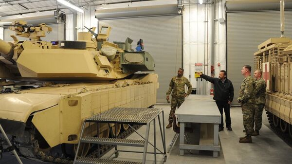 Abrams M1A2C - Sputnik Polska
