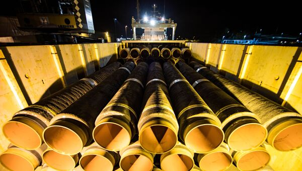 Nord Stream-2, Mukran, Niemcy - Sputnik Polska
