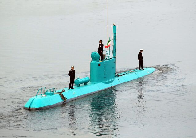 Irański okręt podwodny klasy Ghadir