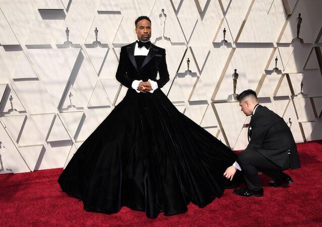 Amerykański piosenkarz i aktor Billy Porter podczas 91. ceremonii wręczenia Oscarów