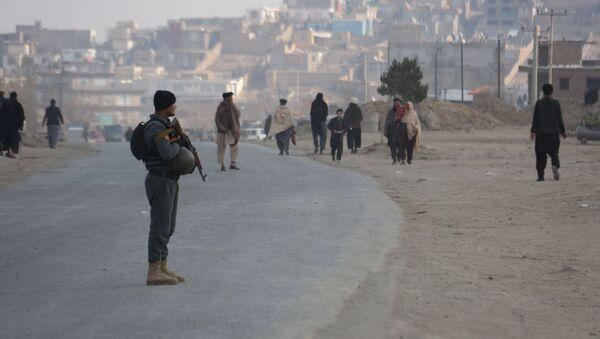 Następstwa wybuchu na obrzeżach Kabulu - Sputnik Polska