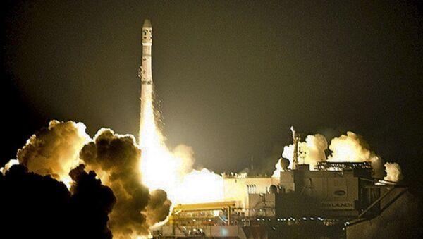 Start rakiety Zenit z platformy startowej w USA - Sputnik Polska