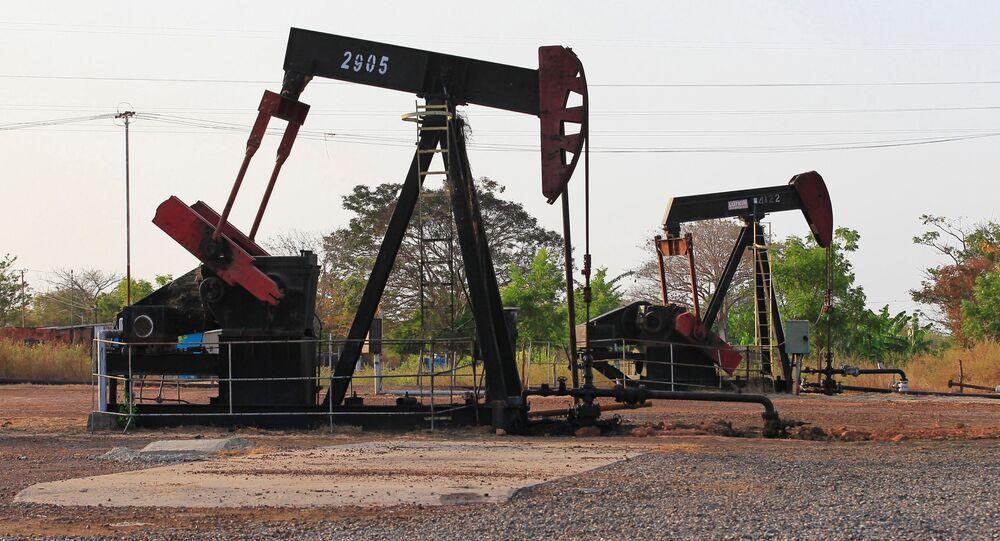 Sprzęt do pompowania ropy w Wenezueli