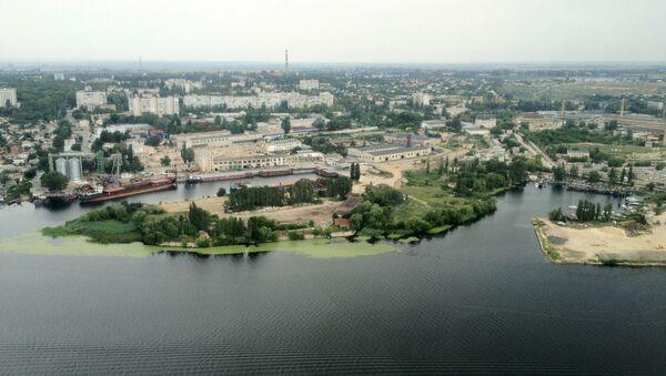 Widok na obwód chersoński, Ukraina - Sputnik Polska