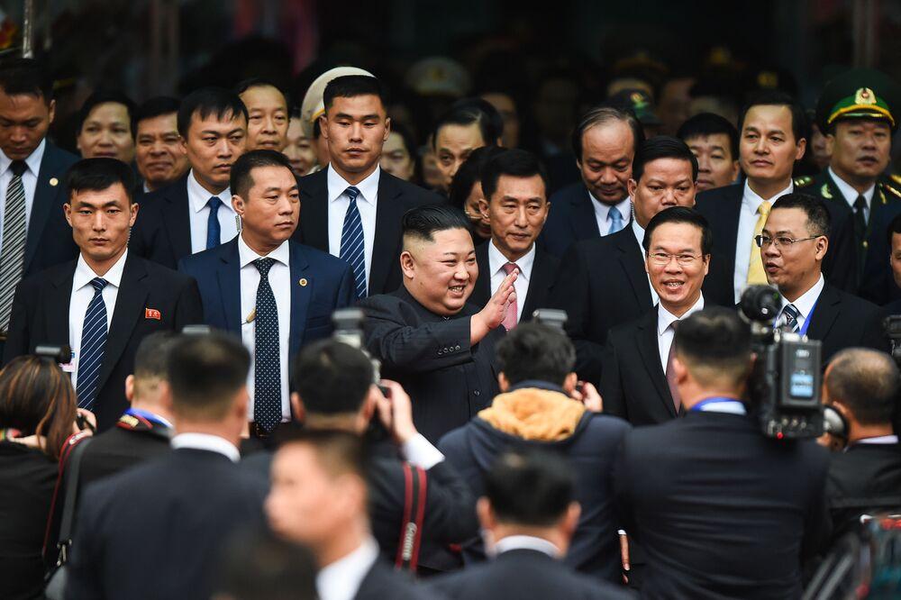 Kim Dzong Un z wizytą w Wietnamie