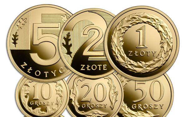 Zestaw 100 lat złotego - Sputnik Polska