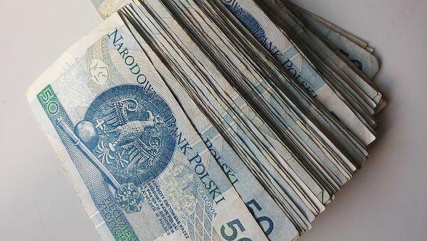 Banknoty 50-złotowe - Sputnik Polska