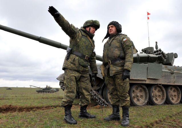 Rosyjscy wojskowi