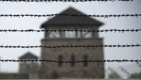 obóz koncentracyjny Mauthausen, Austria - Sputnik Polska