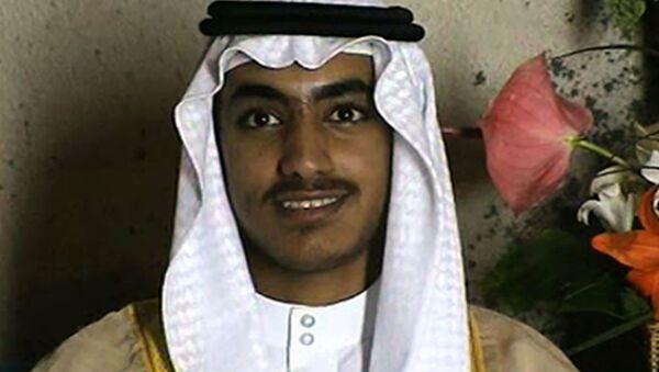 Hamza bin Laden, syn Osamy bin Ladena - Sputnik Polska