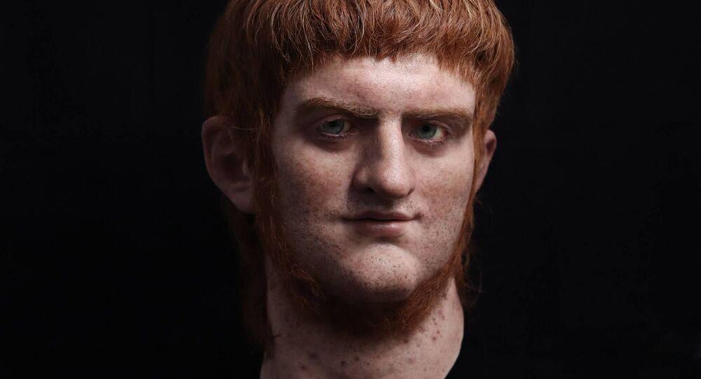 Wirtualny model twarzy Cesarza Nerona