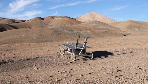 Fragment pustyni Atacama w Chile - Sputnik Polska