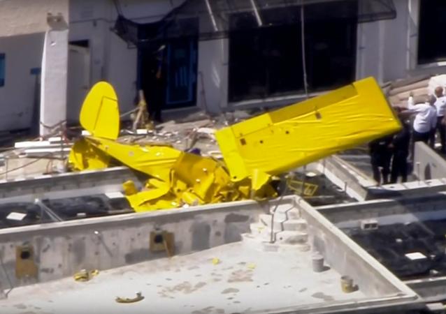 Floryda: Samolot wleciał w budynek mieszkalny