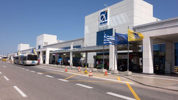 Athens International Airport Eleftherios Venizelos - Sputnik Polska