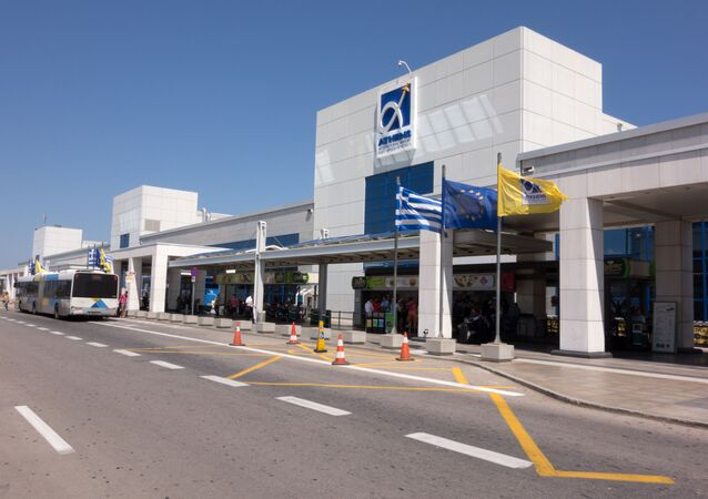 Athens International Airport Eleftherios Venizelos