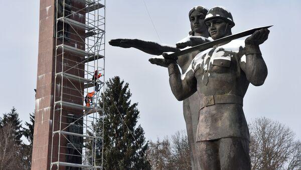 Pomnik Chwały we Lwowie - Sputnik Polska