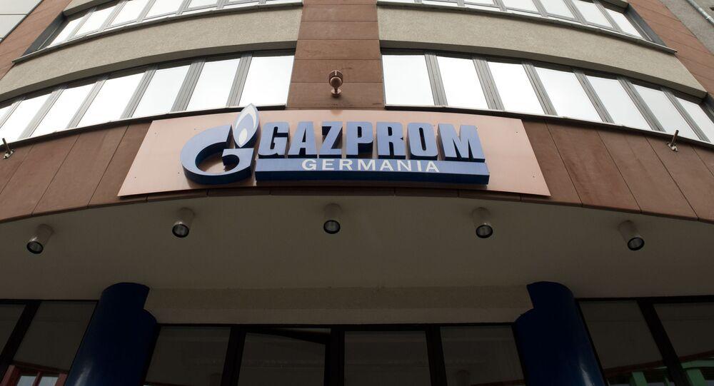 Budynek Gazpromu w Niemczech