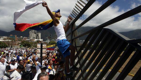 Sytuacja w Wenezueli - Sputnik Polska