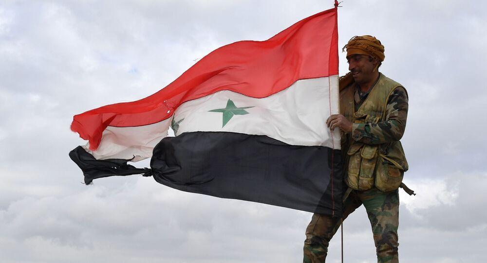 Flaga Syrii
