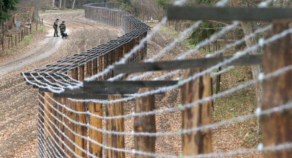 Przejście graniczne między Białorusią a Polską Pererov