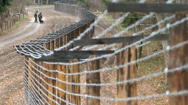 Przejście graniczne między Białorusią a Polską Pererov - Sputnik Polska