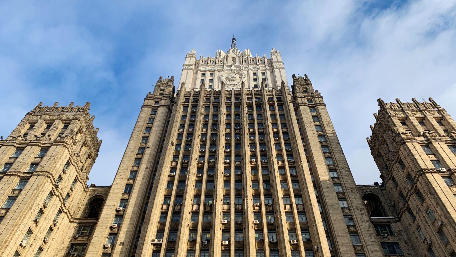 Budynek Ministerstwa Spraw Zagranicznych Federacji Rosyjskiej w Moskwie - Sputnik Polska, 1920, 25.03.2021