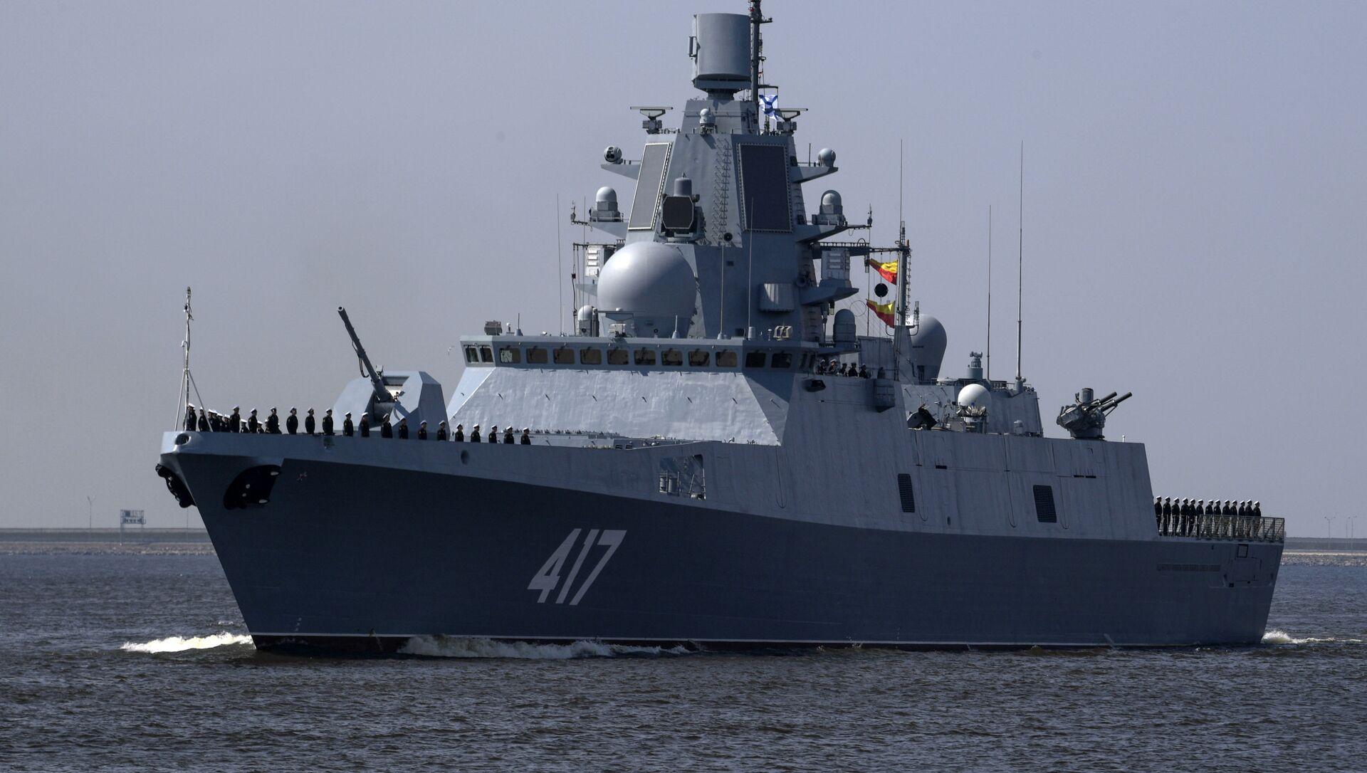 """Fregata """"Admirał Gorszkow"""" - Sputnik Polska, 1920, 18.05.2021"""