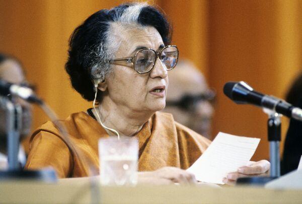 Indira Gandhi - Sputnik Polska